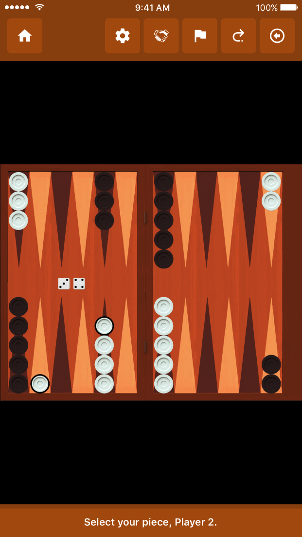 AllGames Together - Backgammon